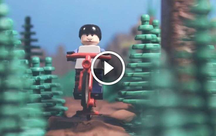 Watch: Lego Mountain Biking. Singletracks Mountain Bike News.