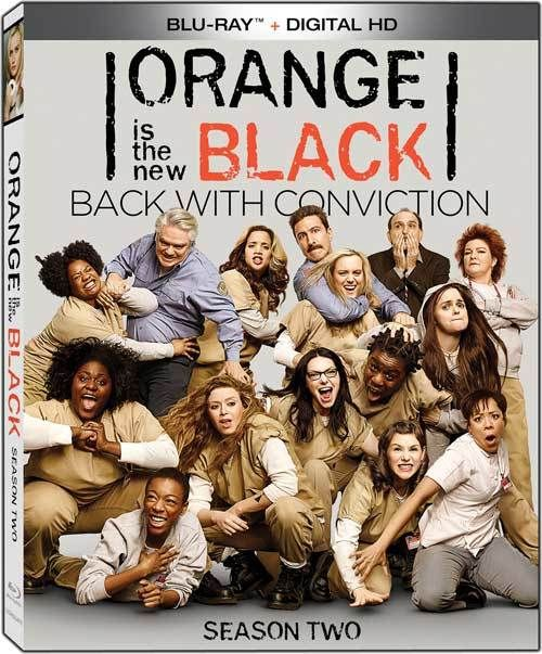 Orange Is the New Black: Season Two (TV) (2014)   The story of Piper Chapman, a woman in her thirties who is sentenced to fifteen months in prison after being convicted of a decade-old crime of transporting money for her drug-dealing girlfriend.  Starring: Taylor Schilling, Jason Biggs, Laura Prepon, Kate Mulgrew, Michael Harney, Natasha Lyonne  Directors: Michael Trim, Andrew McCarthy, Phil Abraham, Constantine Makris, Jodie Foster, Uta Briesewitz  #OrangeIsTheNewBlack #Bluray