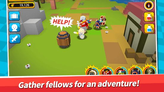 Come on board on a full out adventure with our cute little retro heroes.