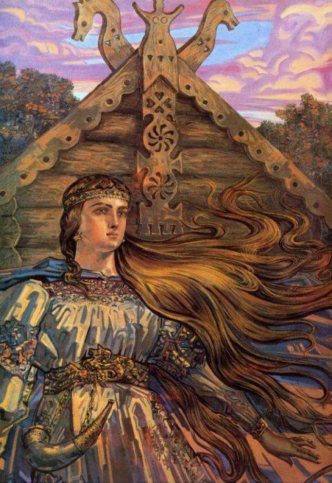Bereginya. Andrey Klimenko Art.