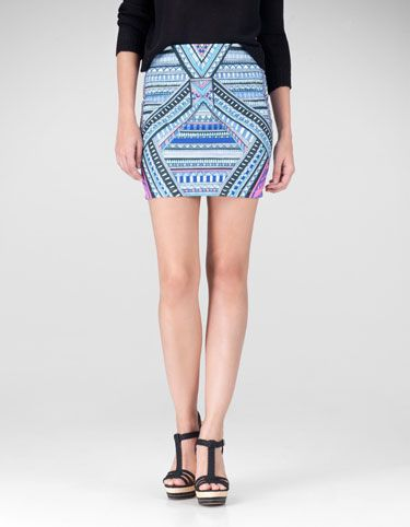 Print tube skirt