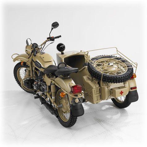 Мотоцикл УРАЛ. Модель 'ПУСТЫНЯ' 2007 LE   OPPOZIT.RU   мотоциклы Урал, Днепр, BMW   ремонт мотоциклов