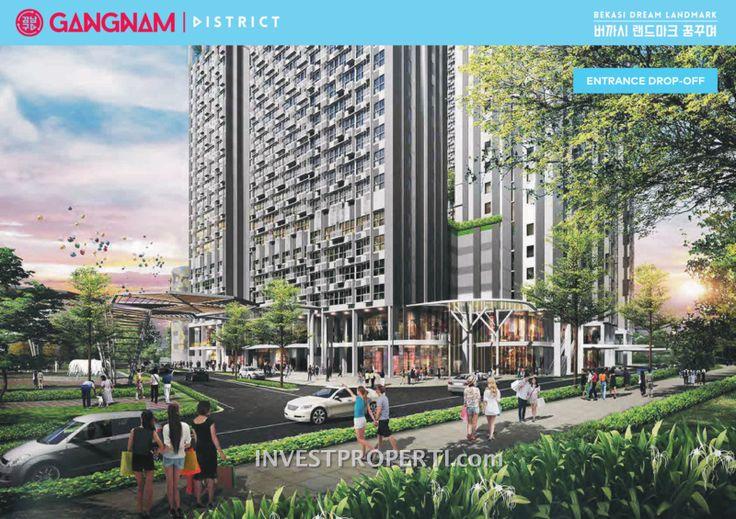 Apartemen Gangnam District di Bekasi. #gangnambekasi