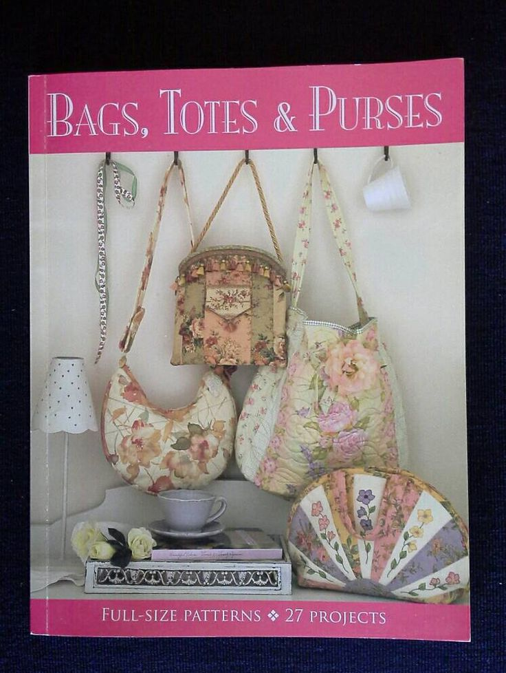 Sewing Book, Bags, Totes and Purses. 27 projects by kayeiansbooks on Etsy