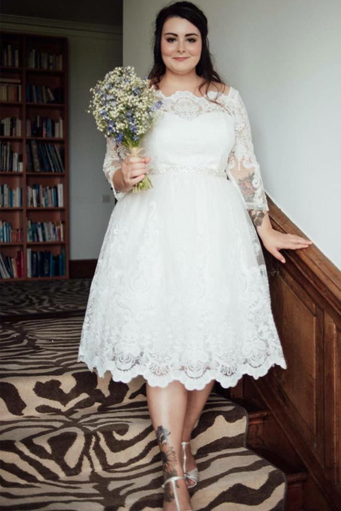 Plus Size Wedding Dresses For The Most Beautiful And Curvy Brides Plus Wedding Dresses Wedding Dresses Plus Size Plus Size Wedding