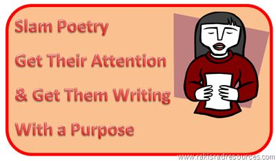 slam poetry with passion a few possible resources to use for a poetry unit middle school. Black Bedroom Furniture Sets. Home Design Ideas