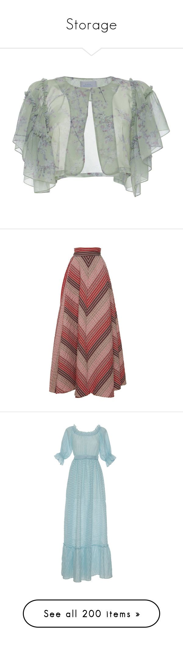 """""""Storage"""" by amberelb ❤ liked on Polyvore featuring green, luisa beccaria, skirts, pink, maxi skirt, pleated maxi skirts, long skirts, high waisted pleated maxi skirt, red maxi skirt and dresses"""
