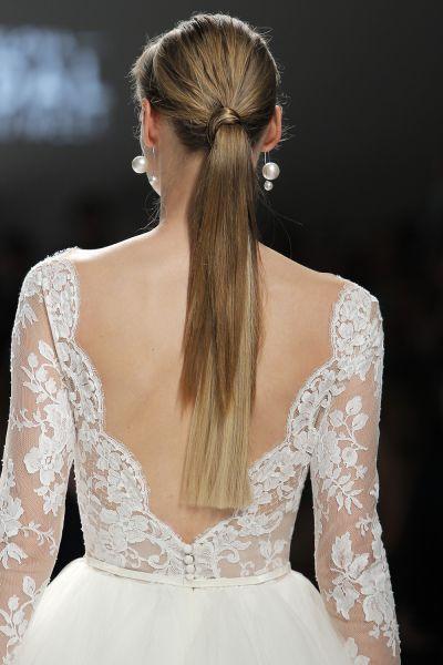 50 vestidos de novia con escote a la espalda 2017: ¡los querrás todos! Image: 46