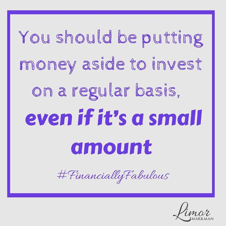 You should be putting money aside into your savings on a regular basis.  Even if you only put a few dollars aside every month. Focus on what you can set aside and feel proud!  #FinanciallyFabulous www.Limor.Money - please subscribe!