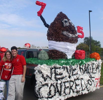 homecoming floats for high school | ... Roman Catholic ChurchOur Lady of Mount Carmel High School - Homecoming