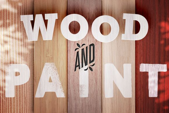 WOOD AND PAINT | 10 Hires-Textures by HEJBRUSH.COM on @creativemarket