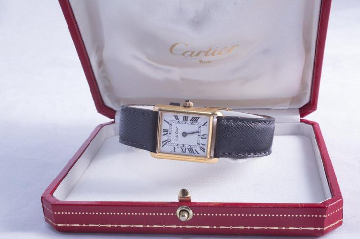 Vintage Cartier Unisex 18K Gold Tank Watch with Box #Vintage #Cartier #Unisex #18K #Gold #Tank #Watch with #Box https://new.liveauctioneers.com/item/55055322_vintage-cartier-unisex-18k-gold-tank-watch-with-box CARTIER tank watch Unisex Vintage & CARTIER band #White  #Dial,  #Roman #numeral #hour #markers #17 #Jewel #manual #movement #Cabochon #sapphire #stem #signed #CARTIER #Sapphire #Crystal placed on #manual #wind Excellent working condition (beautiful smooth CARTIER precision sound)…