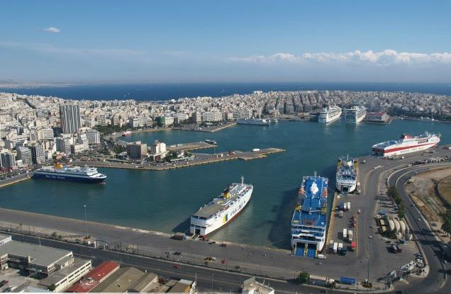 SEEN: Coastal Shipping a Lifeline for Greece's Islands