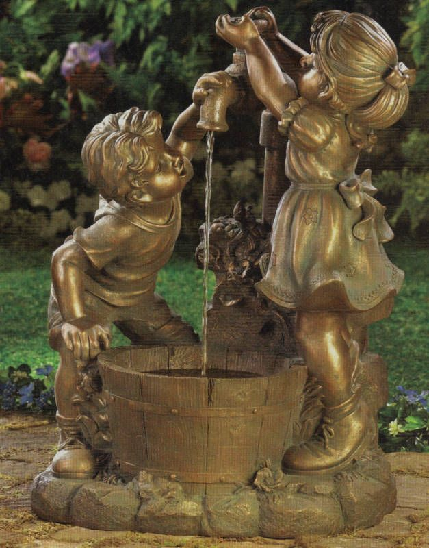 Garden Fountains Ideas 7 soothing diy garden fountains 15 Fountain Ideas For Your Garden