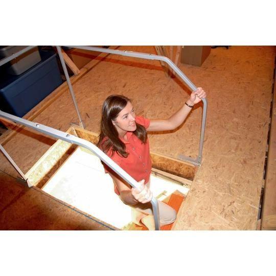 Best Versa Rail Model 60 Attic Ladder Safety Rail Vrm60 In 400 x 300