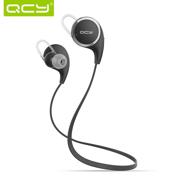 Fast Delivery QCY QY8 Bluetooth 4.1 Headphone Wireless Sports Stereo Running Earphone Portable With HD Microphone Headset Stock
