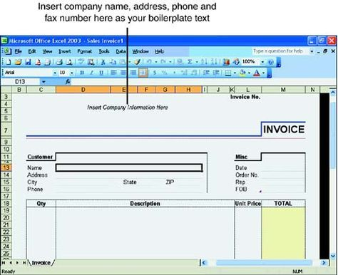 25 best Carpenter Invoice Templates images on Pinterest Invoice - how to create a invoice in excel