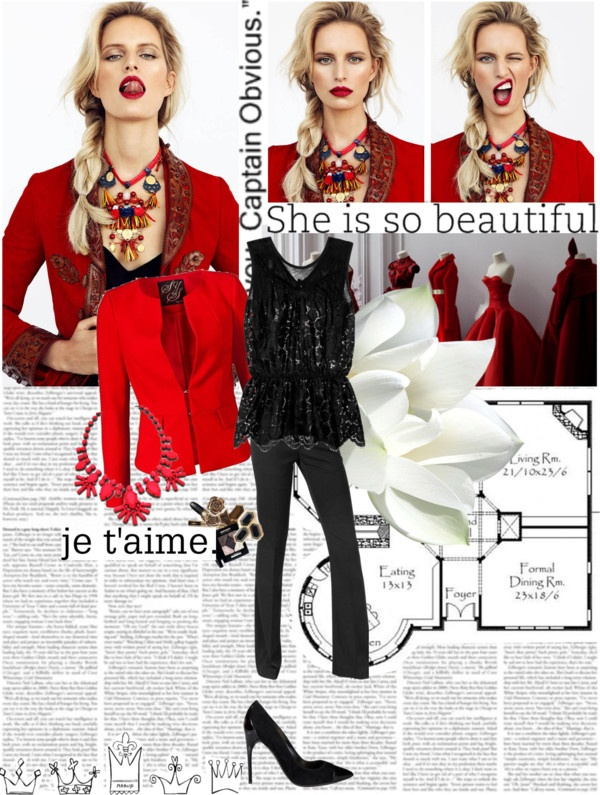 """""""Red*"""" by kethevan ❤ liked on Polyvore"""