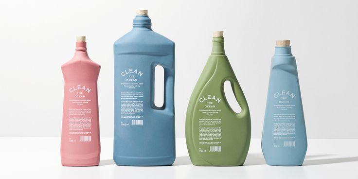 CLEAN THE OCEAN. — The Dieline - Package Design Resource