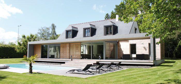 neo bretonne new look breizh pinterest renovation facade r novation et fa ade maison. Black Bedroom Furniture Sets. Home Design Ideas