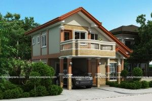 This House Plan Is A 3 Bedroom 2 Storey House Which Can Be Built In U2026