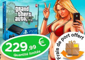 Prix imbattable sur les #JeuxVideo et #consoles notamment les #PS3 avec le jeu #GTAV !   #BonPlan #Soldes #Soldes2014 #Gaming