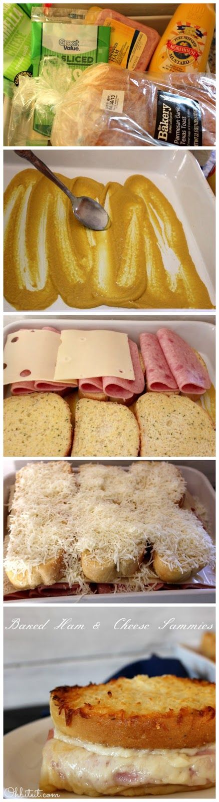 Recipe Best: Baked Ham & Cheese Sammies