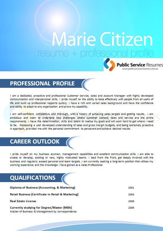 http://www.publicserviceresumes.com.au/