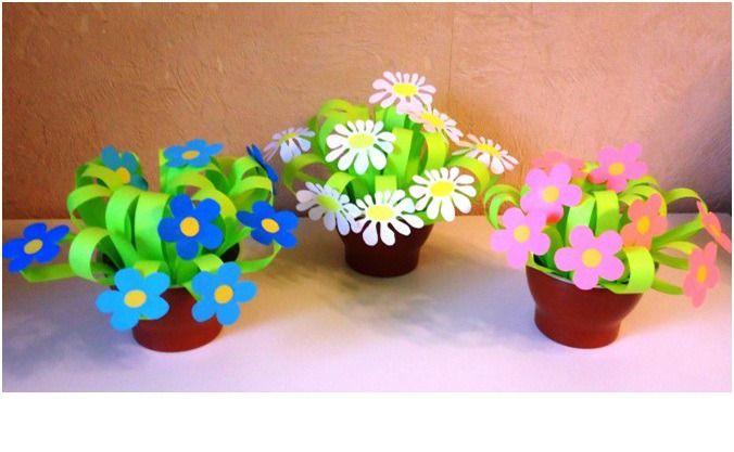Идеи для детского творчества: открытки с объемными элементами к 8 марта. Часть1 - Ярмарка Мастеров - ручная работа, handmade