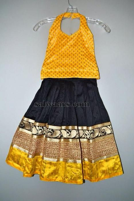 Traditional and Designer Black Lehenga