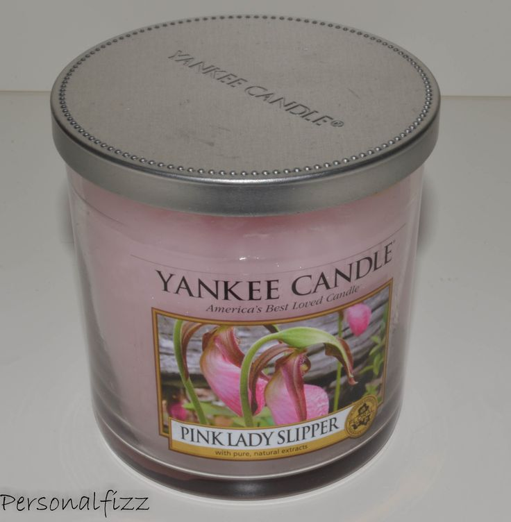 Yankee Candle Tumbler small pink lady slipper