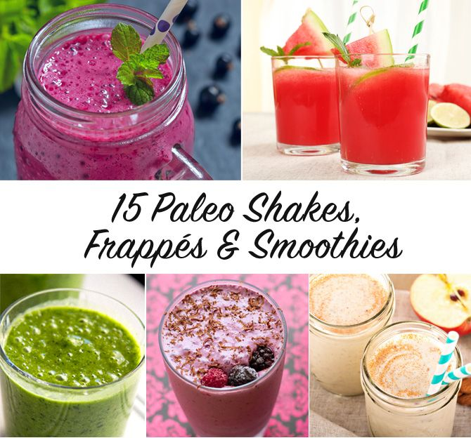 15 Paleo Shakes, Frappés & Smoothies | Eat Drink Paleo
