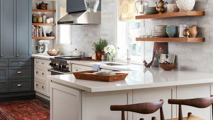 Interior Design — Galley Kitchen Makeover - YouTube