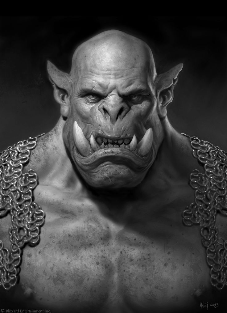 El arte de la película de Warcraft - DoomHammer por  Wei Wang
