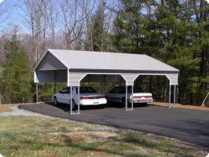 Double Carport Side Entry