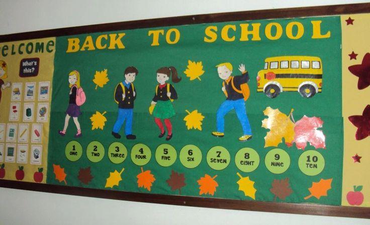 September bulletin boards for preschool | ... Ideas ⋅ Back To School Bulletin Boards & Classroom Ideas