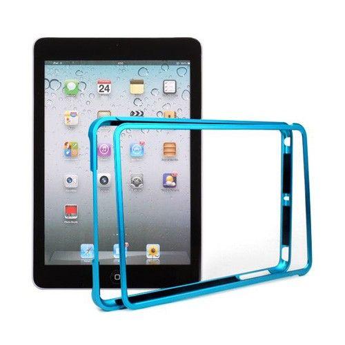 MiniMetal (Vaaleansininen) iPad Mini Alumiininen Bumper Suojakehys