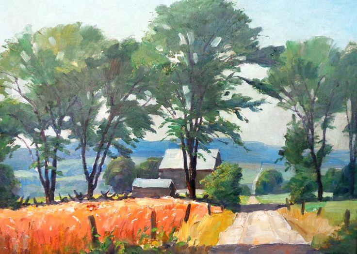 Tom Roberts; Farm Road