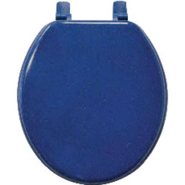cobalt blue | Cobalt Blue Toilet Seat (Standard Round)