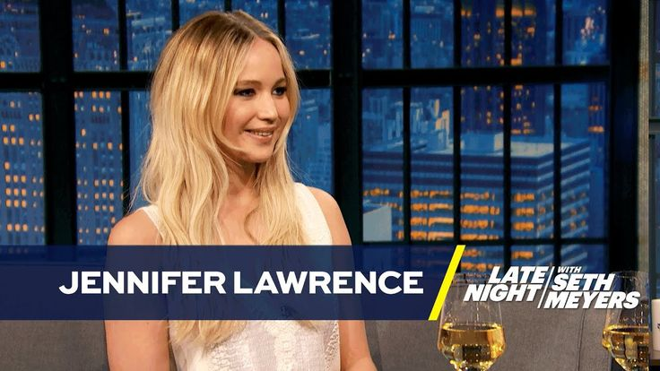 Jennifer Lawrence Is Obsessed with Pippi Lawrence-Stocking ##contentFeed Late Night with Seth Meyers