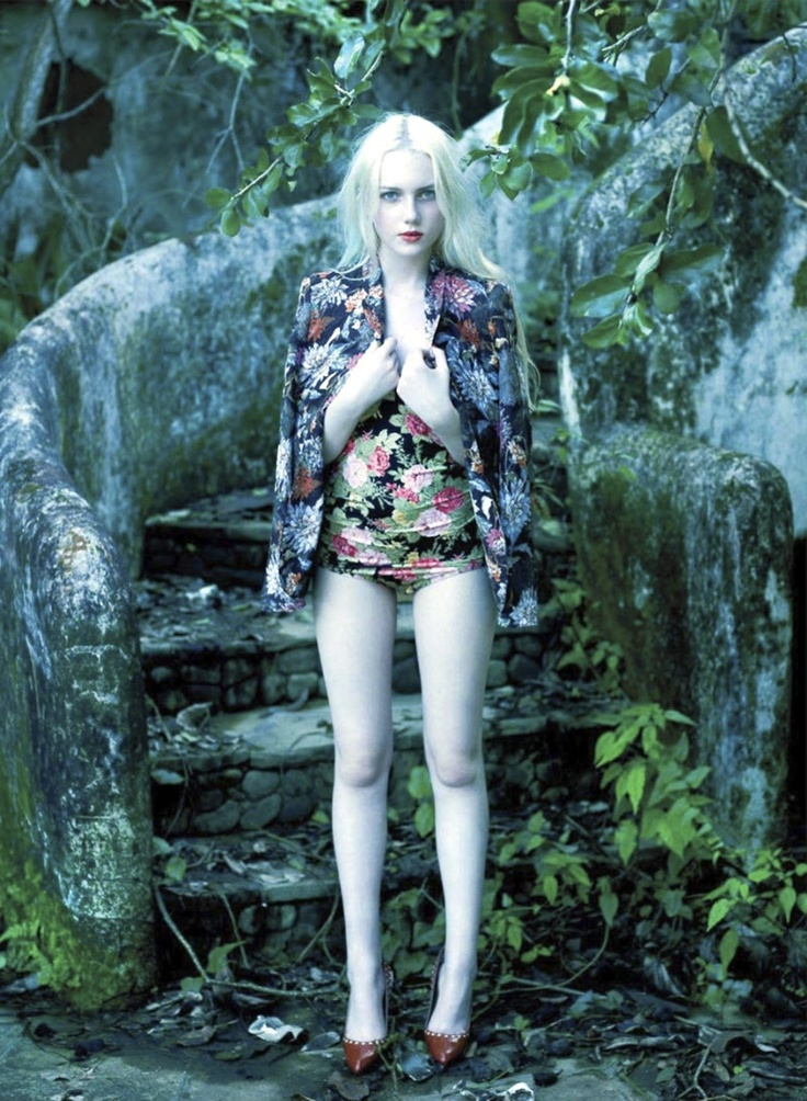 Emily Ruhl by Leda & St. Jacques for Elle Canada June 2012: Emily Ruhl, Elle Canada, Fashion, Editorial, Floral Fantasy, Style, Canada June, June 2012, Lead