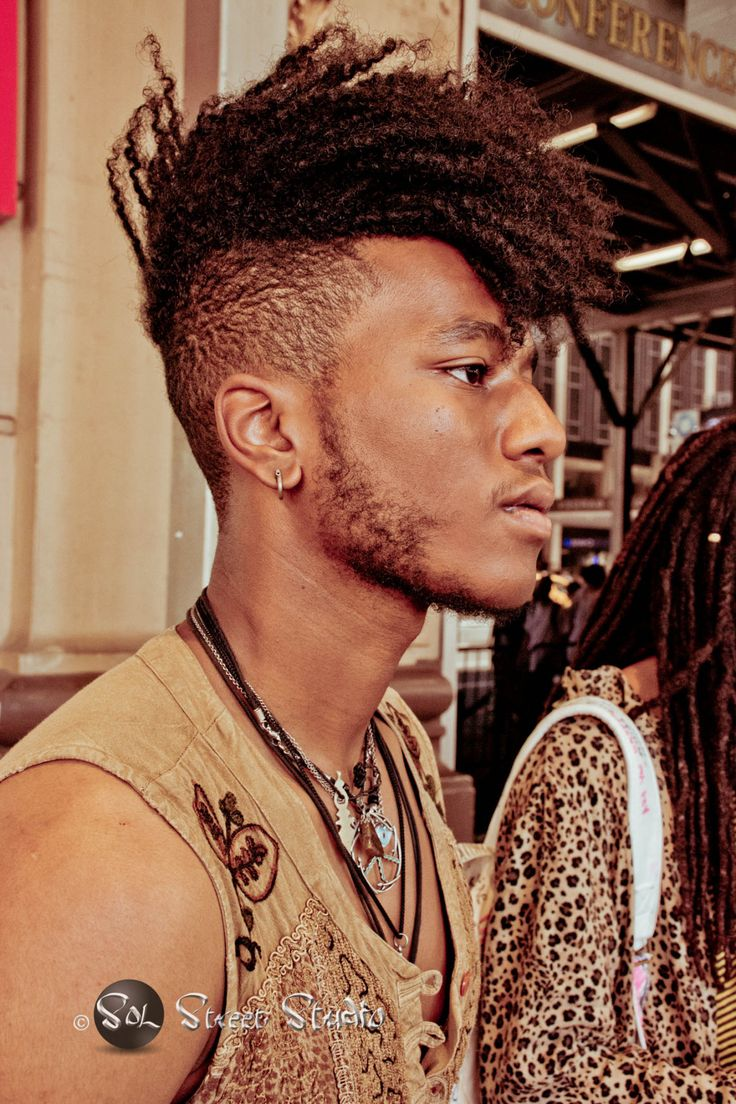 Ran across some brothers during fashion week representing black men at their coolest, embracing their roots and their natural beauty. Kudos to them! You were an...