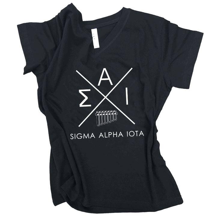 Sigma Alpha Iota Infinity V-Neck Shirt