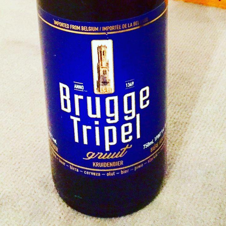 BRUGGE TRIPEL Some more Belgian Beer - My personal Beer Porn. Juergen Schreiter Visionary http://www.JuergenSchreiter.com #Beer #Bier #Cerveza #Øl #Beerporn #BeerSommelier #Craftbeer #Brewery #Bauerei #Beertasting #Bierprobe #Schreiter #Brugge #Tripel #Brügge