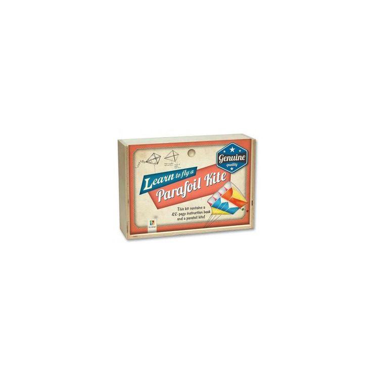 Retro Wooden Box - Parafoil Kite (Mixed media product)