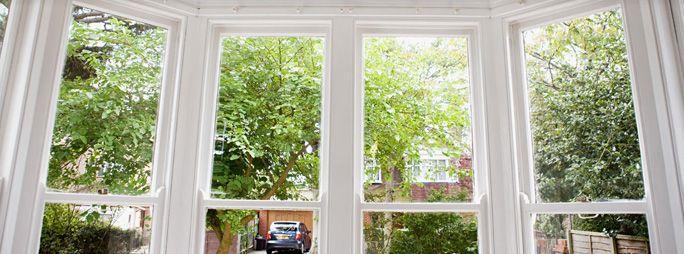 Vertical Sliding Sash Windows  - Northumberland - Stormshield Windows and Conservatories -  Victorian Bay Window
