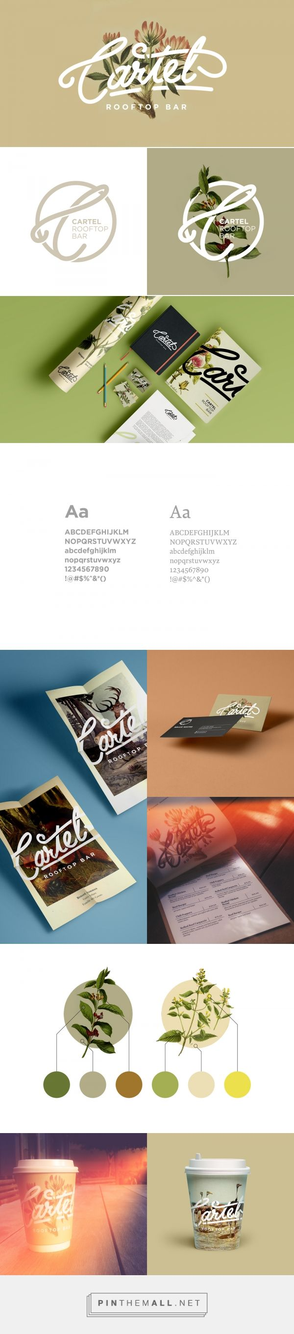 Cartel Bar Identity on Behance