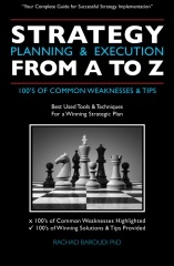 Strategy Planning & Execution From A To Z  To gain your 70% discount on this book, please visit http://j.mp/12hRZqo