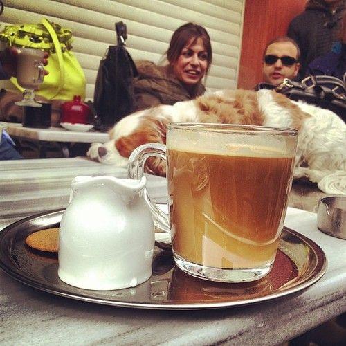 Pazar. Kahve. Huzur. Happy birdday @ferhan talib #gununkahvesi #coffee #karakoy #istanbul #food #foodporn  (Muhit'da)