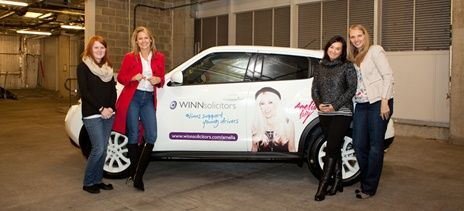 Winn Solicitors unveils surprise for X Factor star
